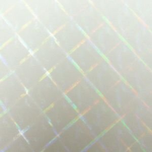 透明ホログラムシート ハイパープレード 30cm×30cm d-inform