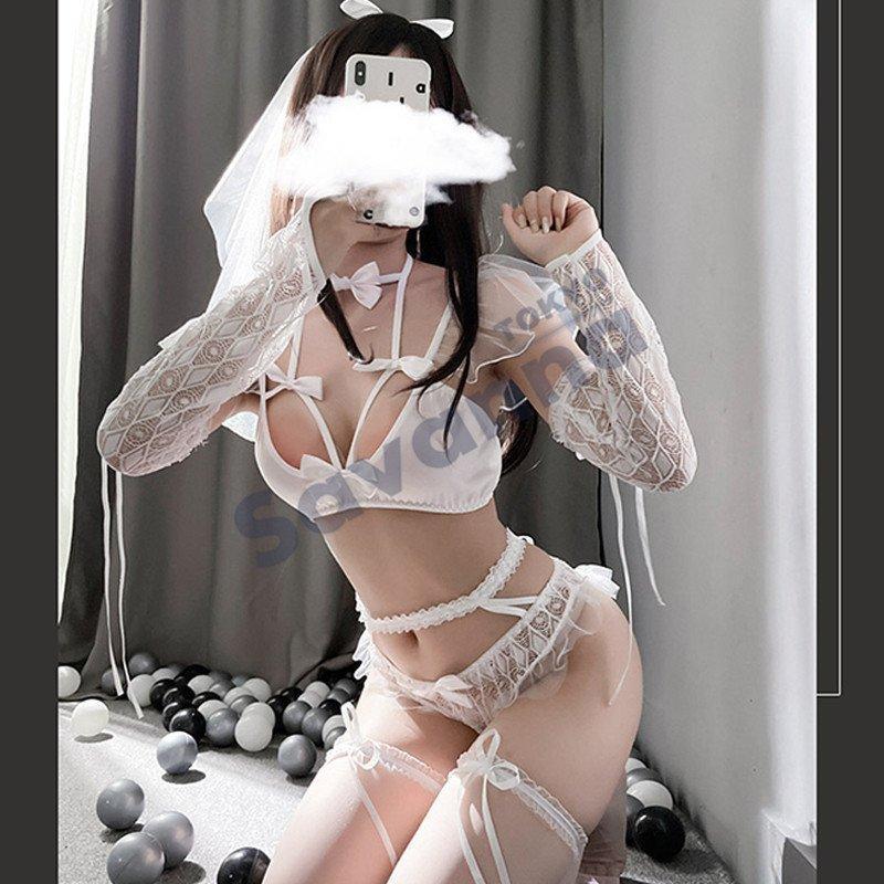 10%offクーポン コスプレ ロリータ メイド服 ゴスロリ ドレス ロリィタ ウェイトレス メイド コスプレ衣装 アダルト コスチューム セット ホワイトデー ギフト|d-l-s|02