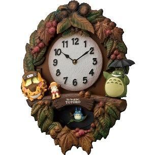 お取り寄せ 4MJ429-M06 リズム時計 トトロM429 キャラクター掛時計