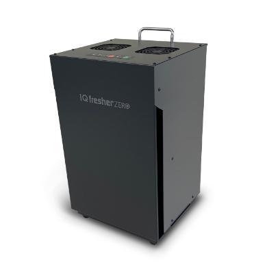 メーカー直送 代引不可 日時指定不可 アイクォーク IQフレッシャーZERO EB-2012AC8E-BK 空気浄化装置 ブラック