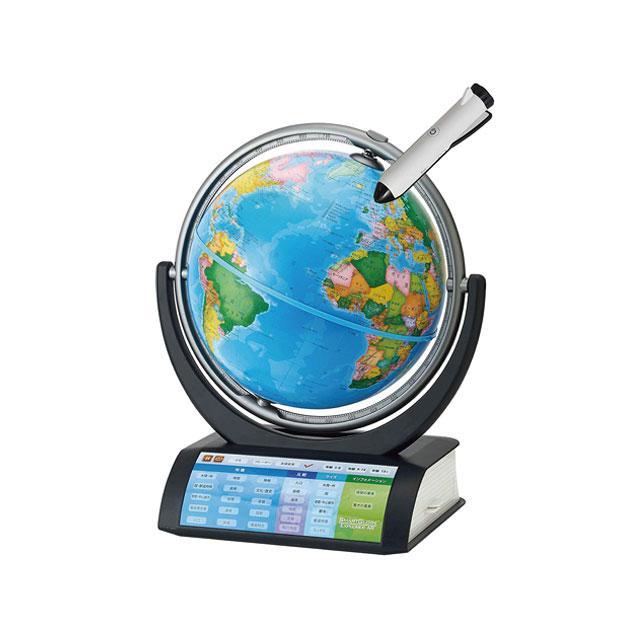 しゃべる 地球儀 ドウシシャ 在庫有り!送料無料!しゃべる地球儀 パーフェクトグローブ