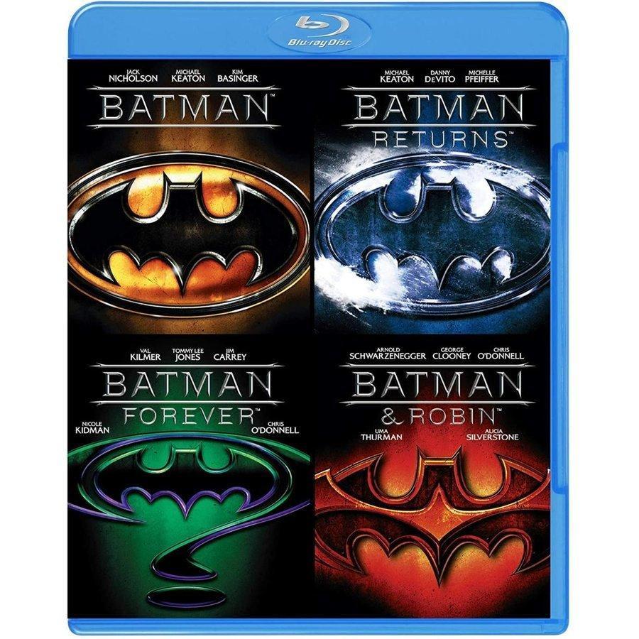 廃盤 バットマン スペシャル・バリューパック Blu-ray ブルーレイ 初回限定生産 マイケル・キートン ジャック・ニコルソン PR