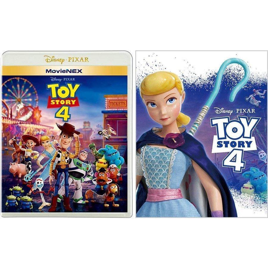 (プレゼント用ギフトラッピング付) トイ・ストーリー4 MovieNEX アウターケース付き 期間限定 ブルーレイ+DVD+デジタルコピー+MovieNEXワールド Blu-ray PR|d-suizan-p
