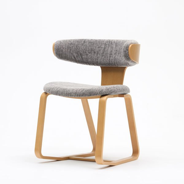 先行販売 [受注生産 12月下旬入荷予定] 天童木工創立80周年記念 中村拓志 Swing chair (署名入りプレート付)