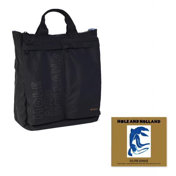 [12月上旬入荷予定 受注生産] HH x TIGHTBOOTH 2 WAY Record Bag with CD/HOLE AND HOLLAND