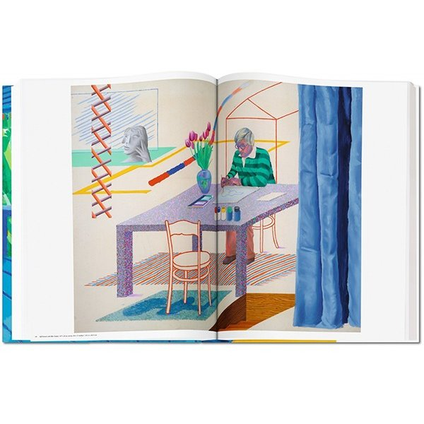 David Hockney. A Bigger Book/デイヴィッド・ホックニーのSUMO BOOK|d-tsutayabooks|03