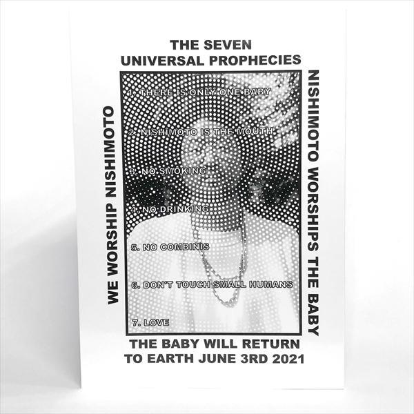 数量限定 本店 7月上旬入荷予定 THE SEVEN MOUTH 大放出セール UNIVERSAL PROPHECIES-NISHIMOTO IS