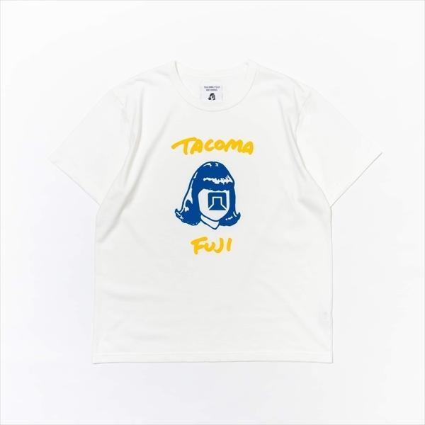 [8月中旬入荷予定 数量限定] TACOMA FUJI RECORDS TACOMA FUJI HANDWRITING LOGO Tee '21 代官山 蔦屋書店限定カラー Tシャツ|d-tsutayabooks
