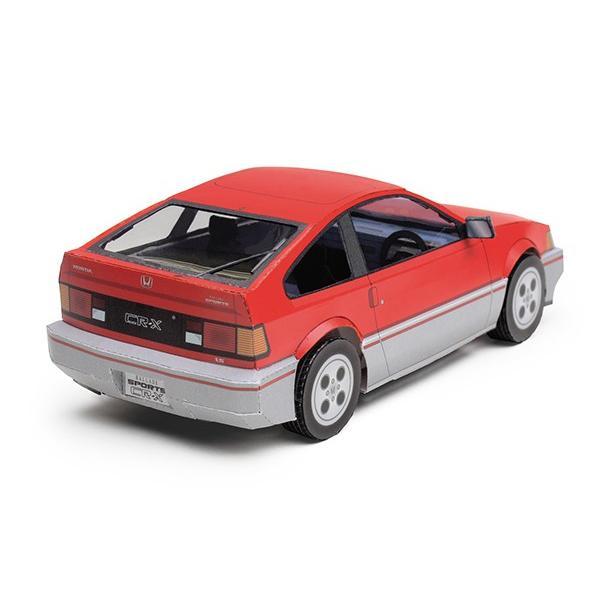 アップリフトモデルズ ミニ ホンダ CR-X -1983- ペーパークラフト|d-tsutayabooks|02
