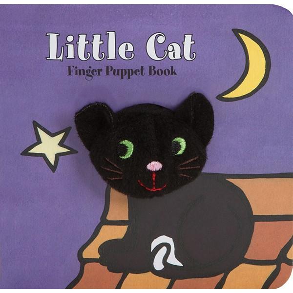 Little Cat Finger Puppet Book ネコ 【指で遊べるパペット付き洋書絵本!】