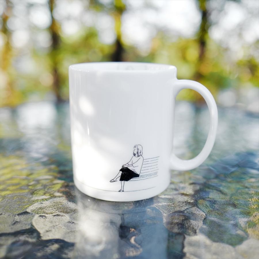[代官山 蔦屋書店限定] ふっくぶっく マグカップ 『さいごのゆうれい』 d-tsutayabooks 03