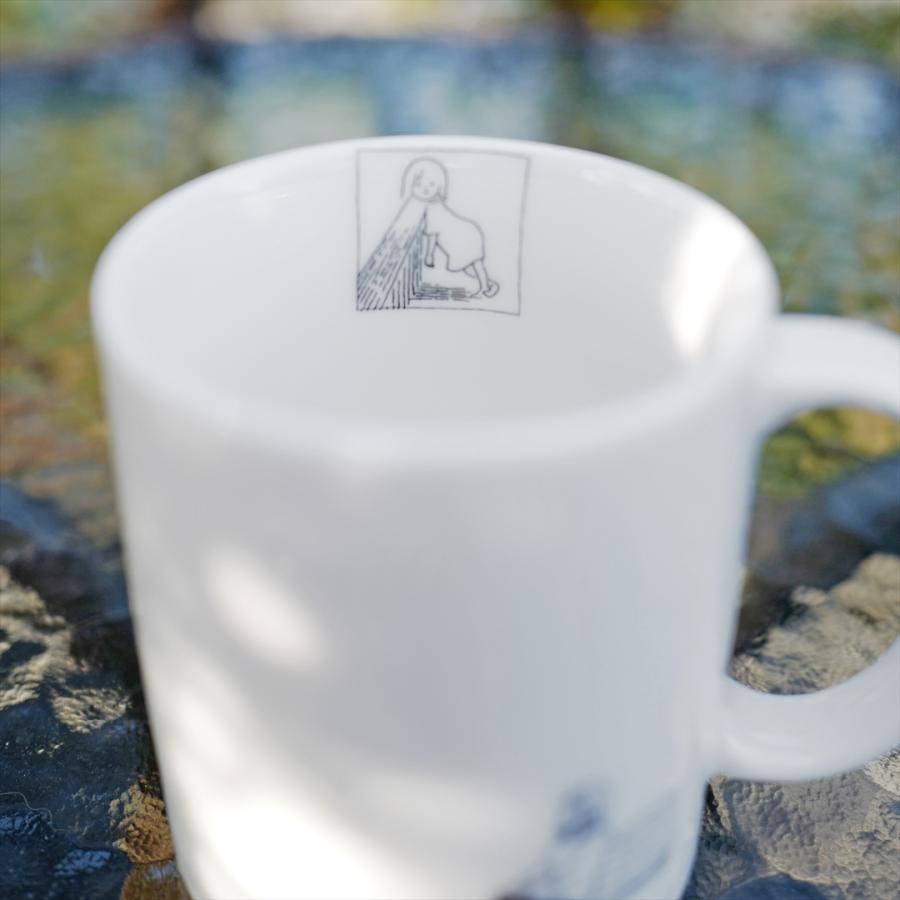 [代官山 蔦屋書店限定] ふっくぶっく マグカップ 『さいごのゆうれい』 d-tsutayabooks 04