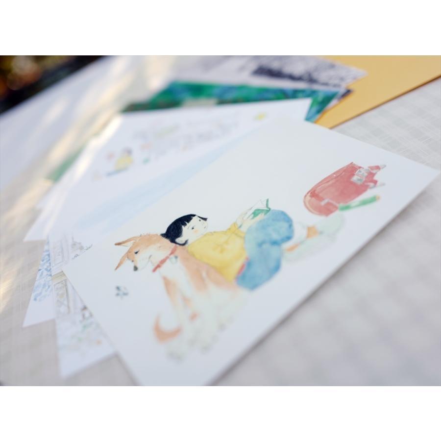 ふっくぶっく ポストカードセット 10枚入り 『さいごのゆうれい』 『オイモはときどきいなくなる』 d-tsutayabooks 04