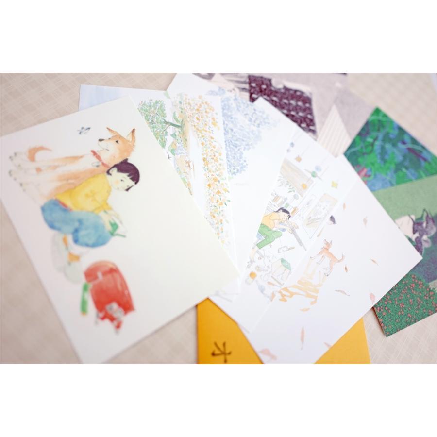 ふっくぶっく ポストカードセット 10枚入り 『さいごのゆうれい』 『オイモはときどきいなくなる』 d-tsutayabooks 05