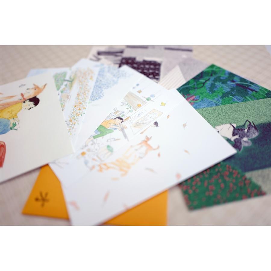 ふっくぶっく ポストカードセット 10枚入り 『さいごのゆうれい』 『オイモはときどきいなくなる』 d-tsutayabooks 06