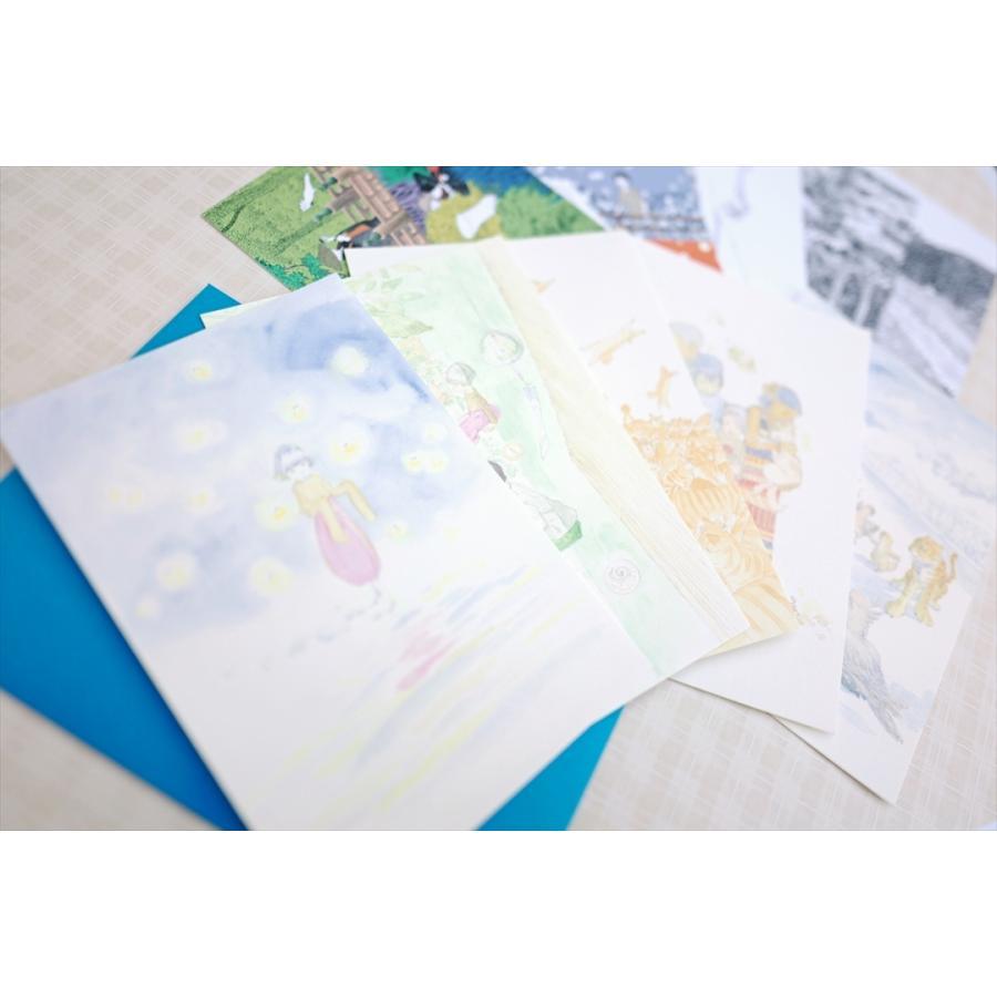 ふっくぶっく ポストカードセット 10枚入り 『さいごのゆうれい』 『オイモはときどきいなくなる』 d-tsutayabooks 07
