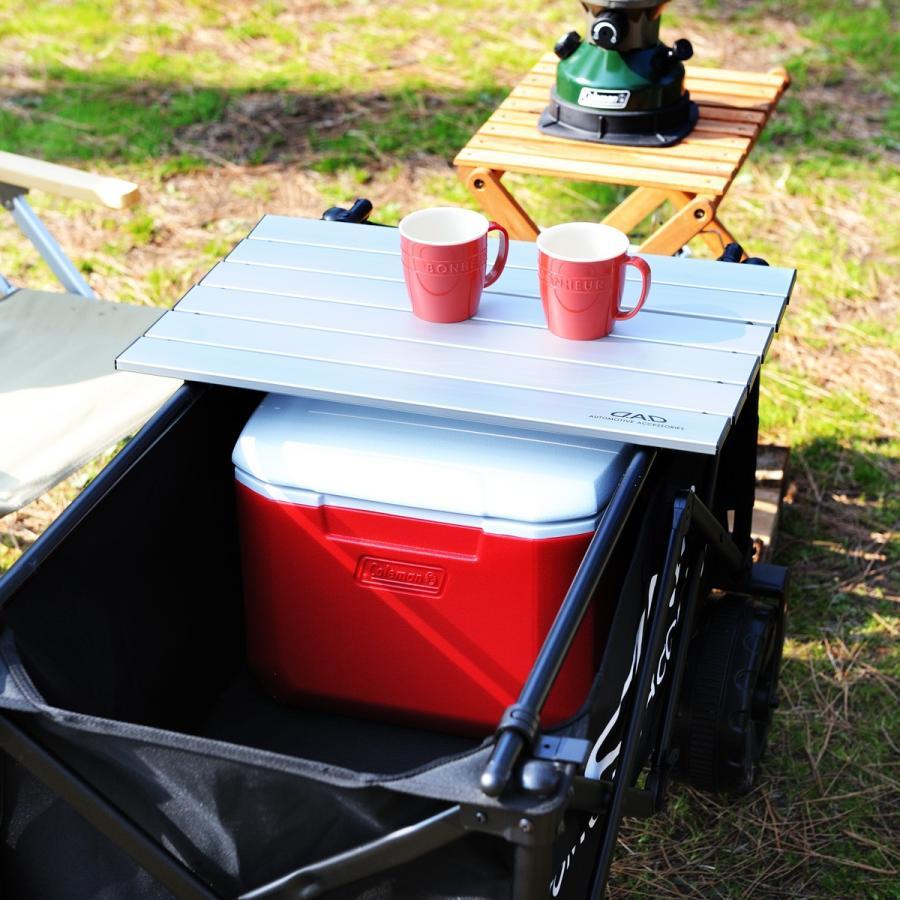 DAD ギャルソン D.A.D FOLDING TABLE アウトドア キャリーワゴン用 折り畳みテーブル 汎用 2カラー アウトドアワゴンテーブル アウトドアワゴン用 テーブル|dad|05