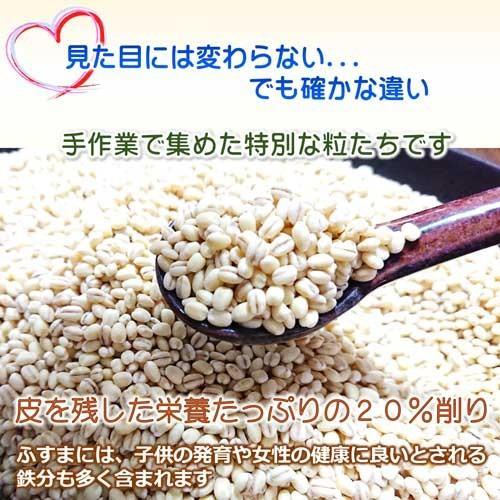 国産 無農薬 もち麦 キラリモチ お得な900g 農薬・化学肥料不使用  美味しい希少もち麦で食物繊維を実感 daichi-megumi 06