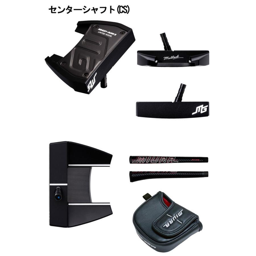 (数量限定品) 三浦技研 MGP-NMパター KsNPS140純正スチールシャフト|daiichigolf|03