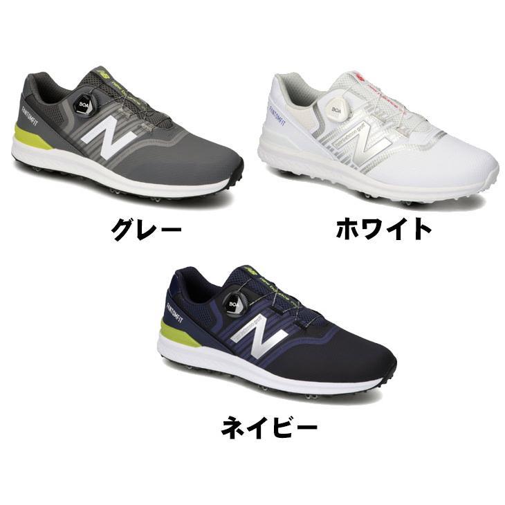 ニューバランス new balance ゴルフシューズ スパイク ボア UGBF996 NB BOA メンズ|daiichigolf|02