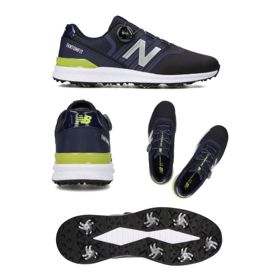 ニューバランス new balance ゴルフシューズ スパイク ボア UGBF996 NB BOA メンズ|daiichigolf|05