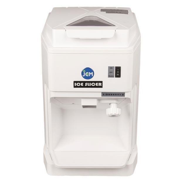【送料無料】JCM-IS 新品 かき氷器 業務用 電動アイススライサー かき氷機 キューブ アイススライサー