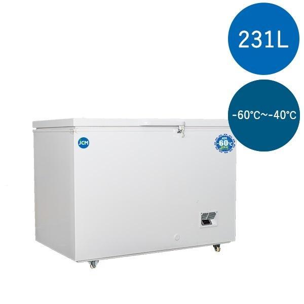 【決算セール中】超低温冷凍ストッカー  チェスト フリーザー -60℃ JCM 230L 業務用冷凍庫 保冷庫 内蓋付 鍵付 大型冷凍庫 JCMCC-230 【送料無料】