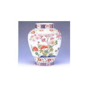 壺型花瓶 芙蓉桜 木箱入