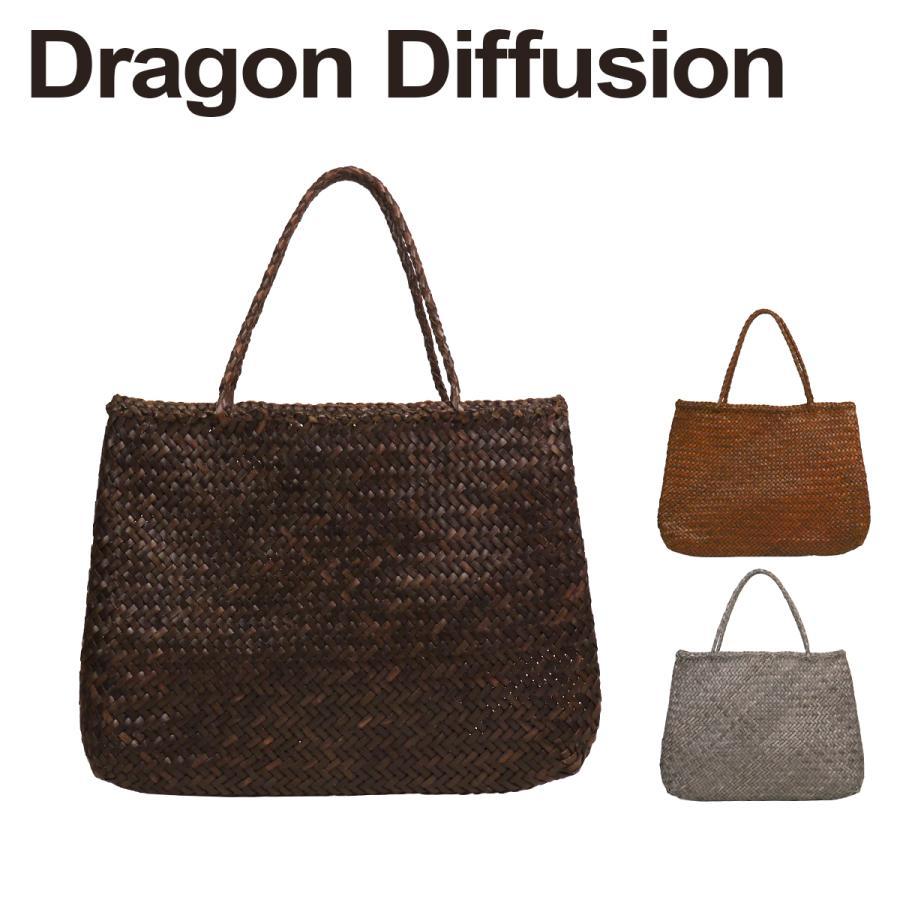 ドラゴンディフュージョン Dragon Diffusion レザーメッシュ トートバッグ 8099 SOPHIE BIG 選べるカラー daily-3