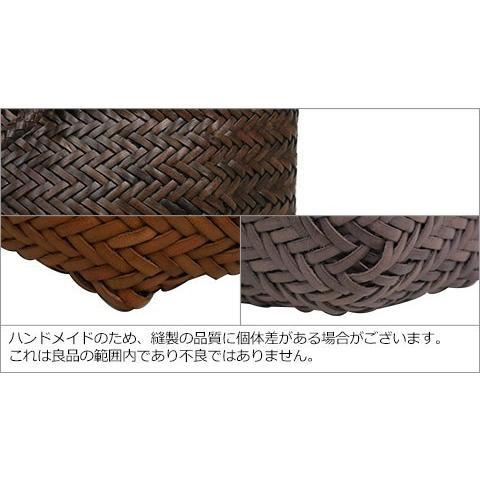 ドラゴンディフュージョン Dragon Diffusion レザーメッシュ トートバッグ 8813 Grace Basket SMALL 選べるカラー|daily-3|07