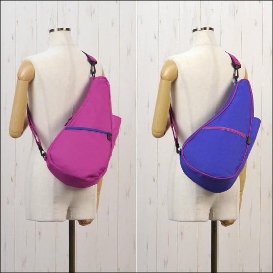 HEALTHY BACK BAG ヘルシーバックバッグ モザイク リバーシブル Sサイズ 6113 BLUE/VERYBERRY|daily-3|02