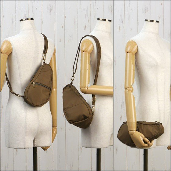 HEALTHY BACK BAG ヘルシーバックバッグ ボディーバッグ  LARGE BAGLETTS 7100LG TAUPE daily-3 02