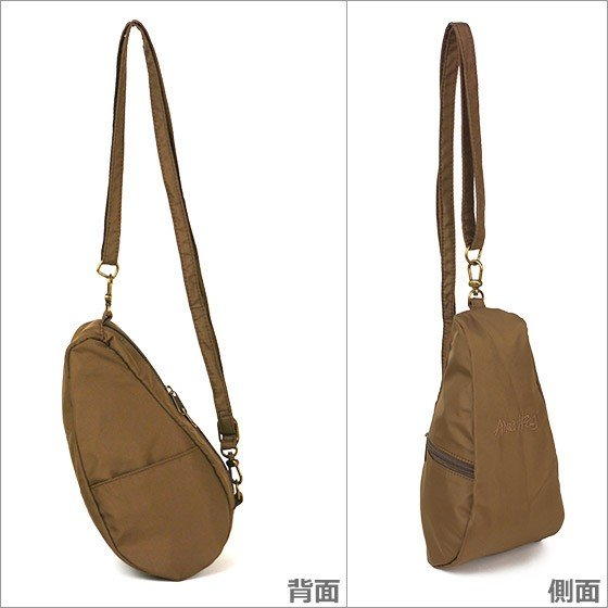HEALTHY BACK BAG ヘルシーバックバッグ ボディーバッグ  LARGE BAGLETTS 7100LG TAUPE daily-3 04