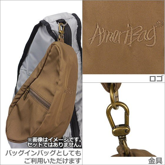 HEALTHY BACK BAG ヘルシーバックバッグ ボディーバッグ  LARGE BAGLETTS 7100LG TAUPE daily-3 05