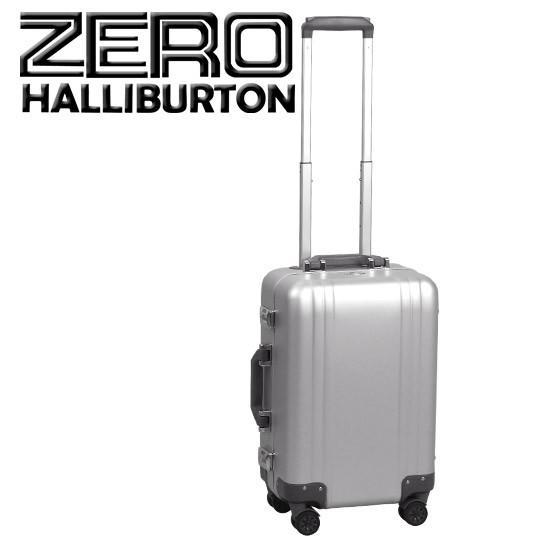 ゼロハリバートン クラシック アルミニウム 2.0 スーツケース・ビジネスケース シルバー Carry-On 4-Wheel Spinner Travel Case 4輪 機内持ち込み