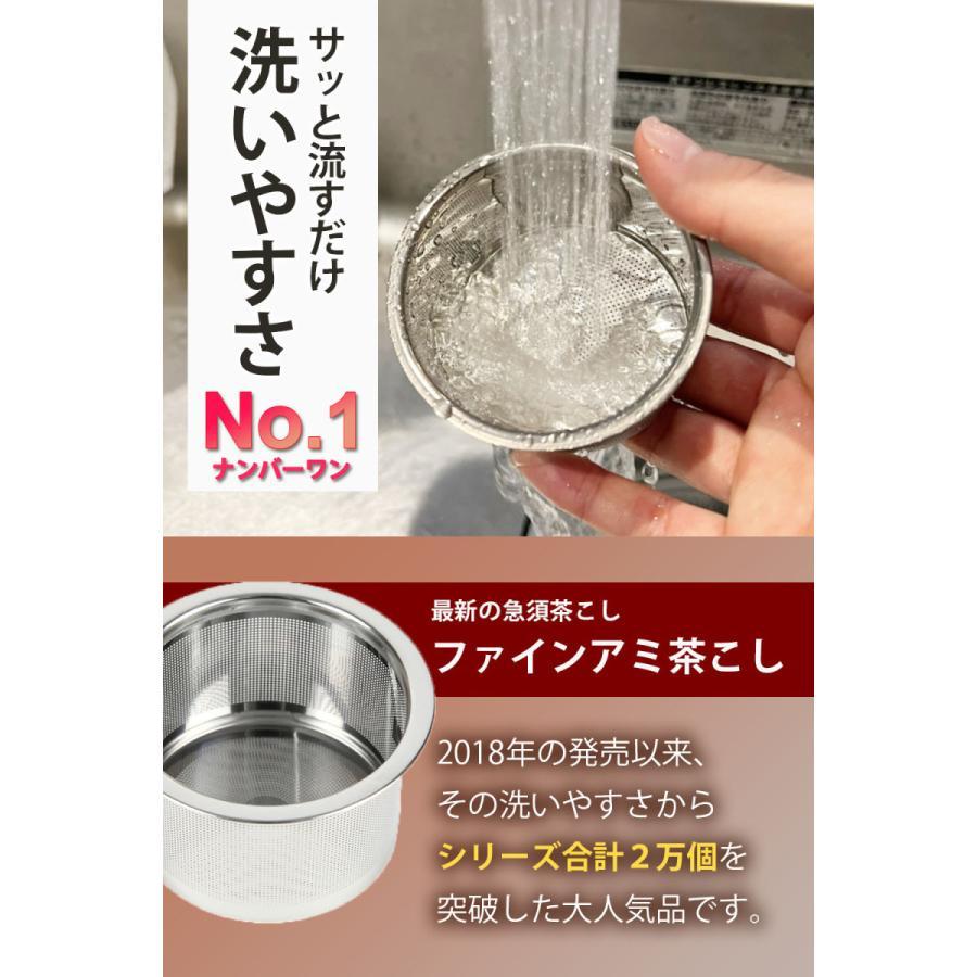 常滑焼 急須 黒 深蒸し 日本製 ステンレス 茶こし 黒泥 300ml きつさこ daily-central 03