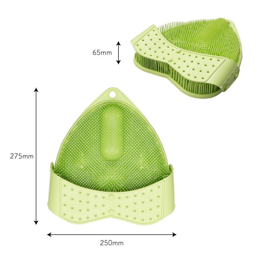 """ヘルシーフットウォッシャー""""ライムグリーン"""" 〜足裏ケアで健康的に美しく〜 daimei-store 05"""