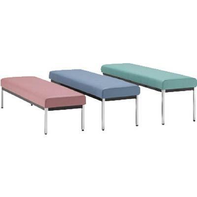 ミズノ 【代引不可】【直送】 長椅子W1800×D470×H450 長椅子W1800×D470×H450 ブラック MC1828-SH450-BK [F010806]