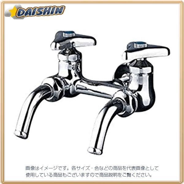 KVK 二口吐水回転水栓 K112-JAN [A150203]