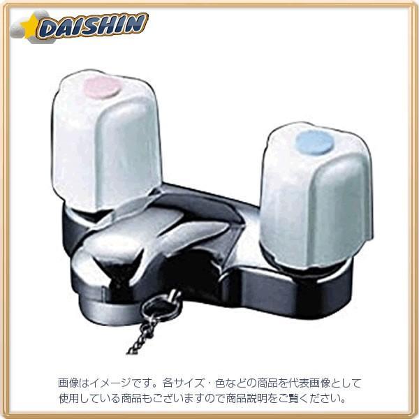 KVK 洗面2ハンドル混合栓 栓付 KM66G [A150201]