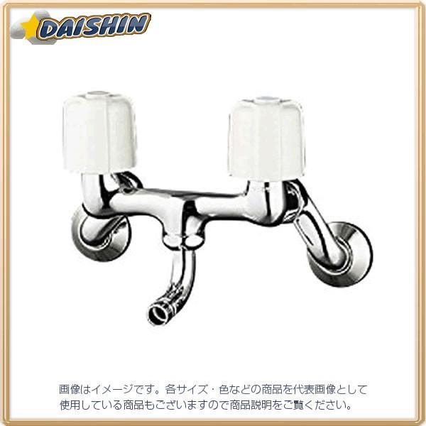KVK 寒 2ハンドル混合栓 ワンタッチN付 ワンタッチN付 ワンタッチN付 KM33N3WB [A150201] 37e