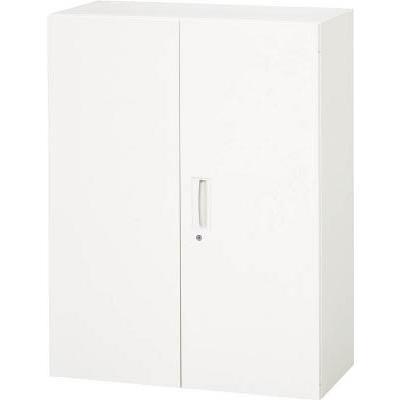 ダイシン工業 【個人宅不可】 壁面収納庫 両開き型 上下兼用D400 ホワイト V940-12H [F012202]