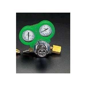 エスコ ESCO 酸素調整器(関東形・雌ネジ/保護カバー付) EA316AA-2 [I030103]