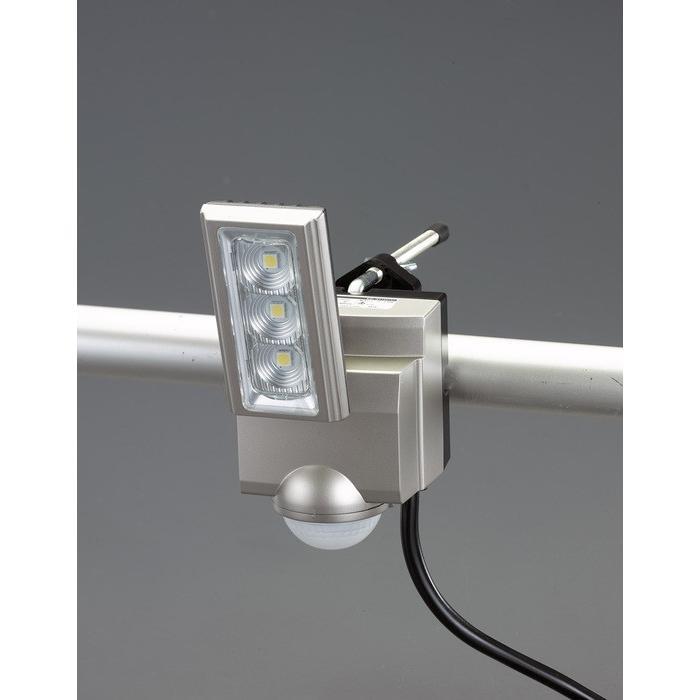 エスコ ESCO AC100V/11W LEDセンサーライト(1灯) EA864CB-161A [I260227]