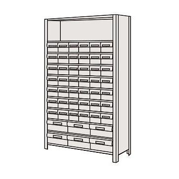 サカエ SAKAE SAKAE 【個人宅不可】 物品棚LEK型樹脂ボックス LEK1111-48T [A170809]