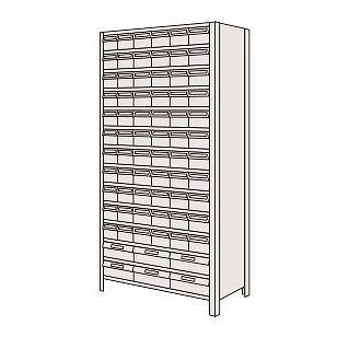 サカエ SAKAE 【個人宅不可】 物品棚LEK型樹脂ボックス LEK2114-72T LEK2114-72T [A170809]