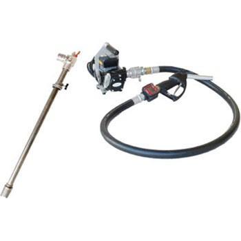 アクア 流量計付電動ドラムポンプ(100V) 灯油 軽油 EVPD-56K24 [B020602]