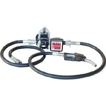 アクア オートストップガン・流量計付ホース接続電動ポンプ 灯油 軽油 K33EVPH-56ATN [B020602]