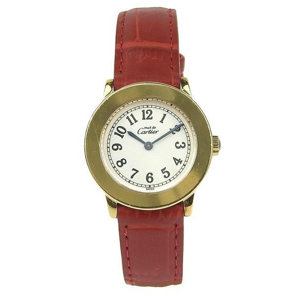 超高品質で人気の カルティエ マストロンド レディース カルティエ レディース マストロンド 腕時計, GOLDEN トナー:8a119925 --- airmodconsu.dominiotemporario.com