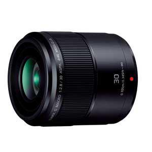 パナソニック 交換用レンズ LUMIX G MACRO 30mm F2.8 ASPH. MEGA O.I.S. H-HS030カメラ:カメラアクセサ